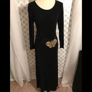 Dresses & Skirts - Black Maxi Dress (does not include belt)
